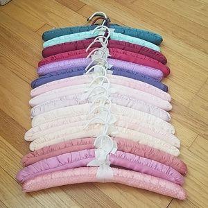 Satin padded hangers